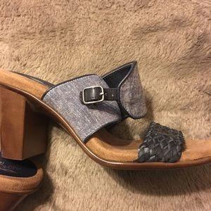 Aerosoles Denim Blue Heels Comfortable 7.5